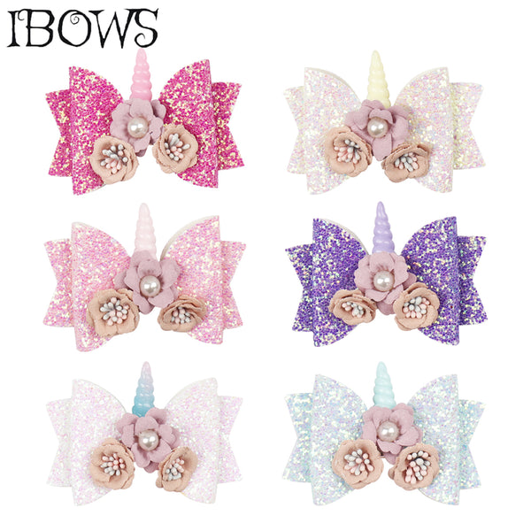 3'' Hair Accessories Bling Glitter Hair Clips
