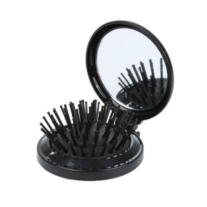 New Travel Folding Comb with Mirror