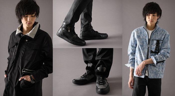 """"""""""" NieR """"series x SuperGroupies Collaboration Outerwear and Shoes are now available!"""
