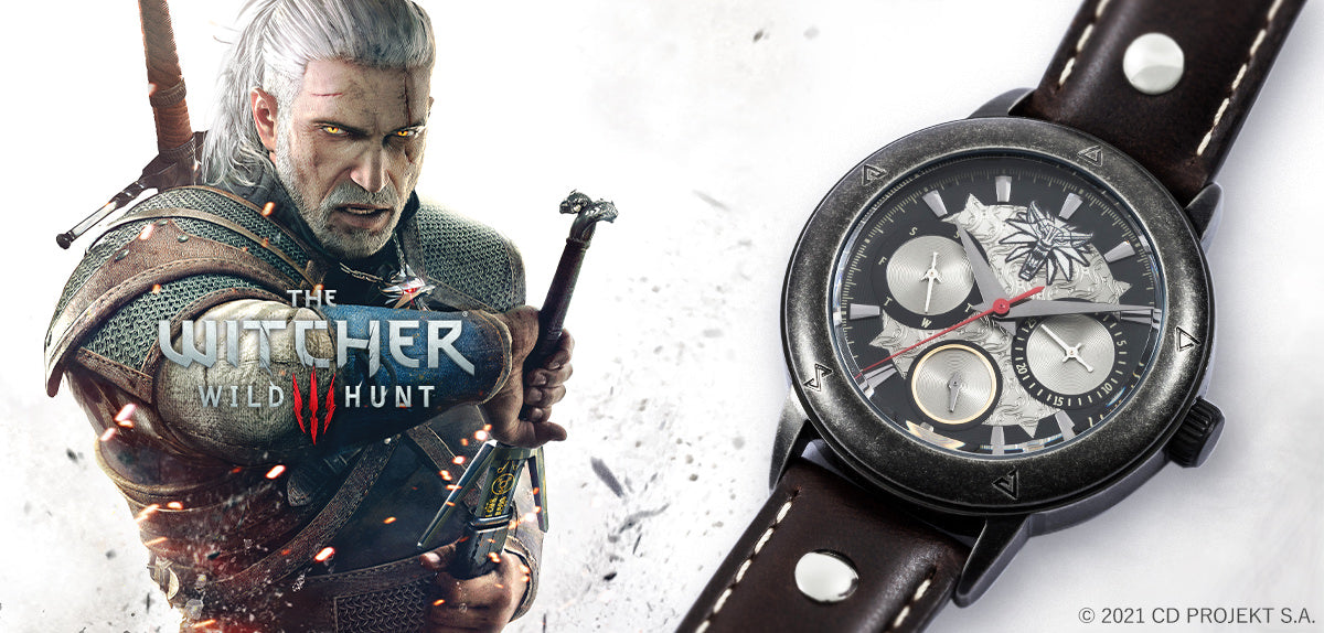 New Collaboration Items with the Witcher Series!