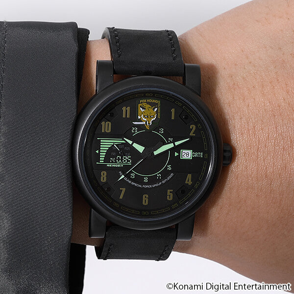 Solid Snake Model Watch METAL GEAR SOLID