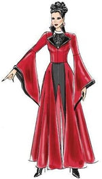 McCalls M6818 Women's Cape and Fancy Dress Costume Pattern