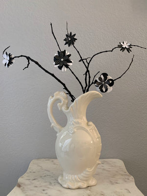 Dead Gorgeous Bouquet - white vase