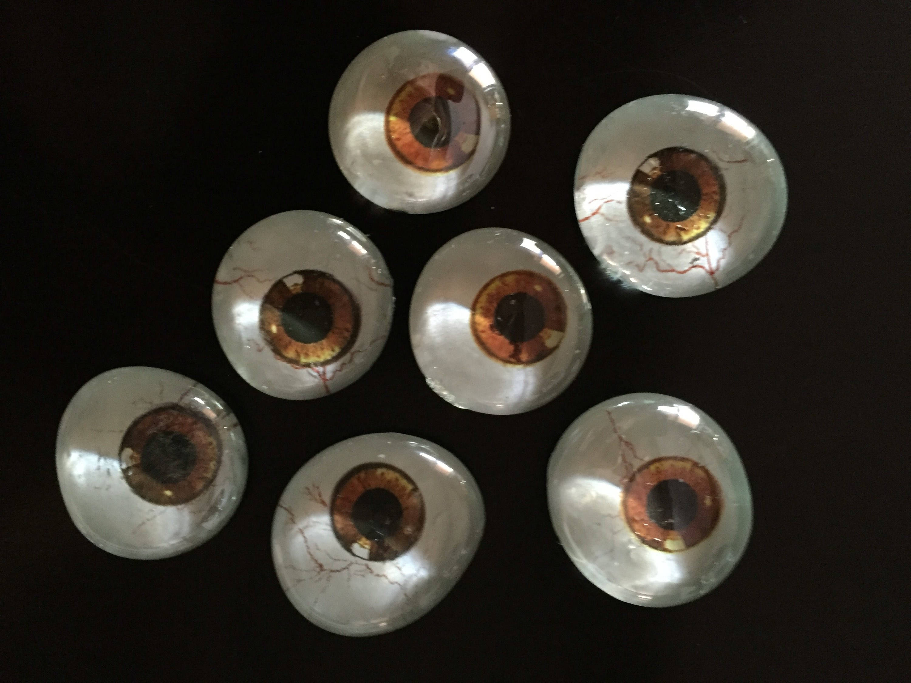 Glass Eyeballs