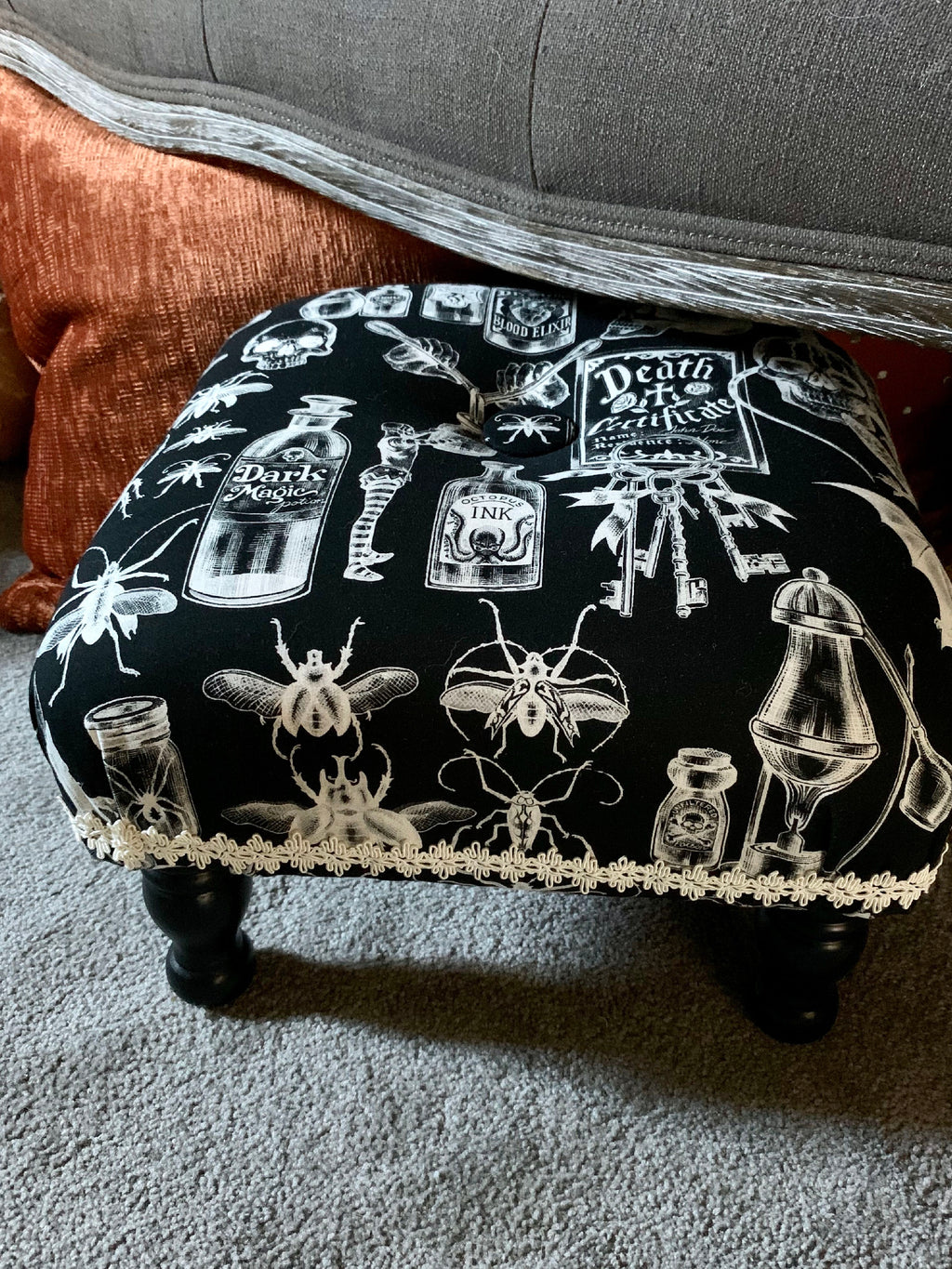 Mad Scientist Footstool