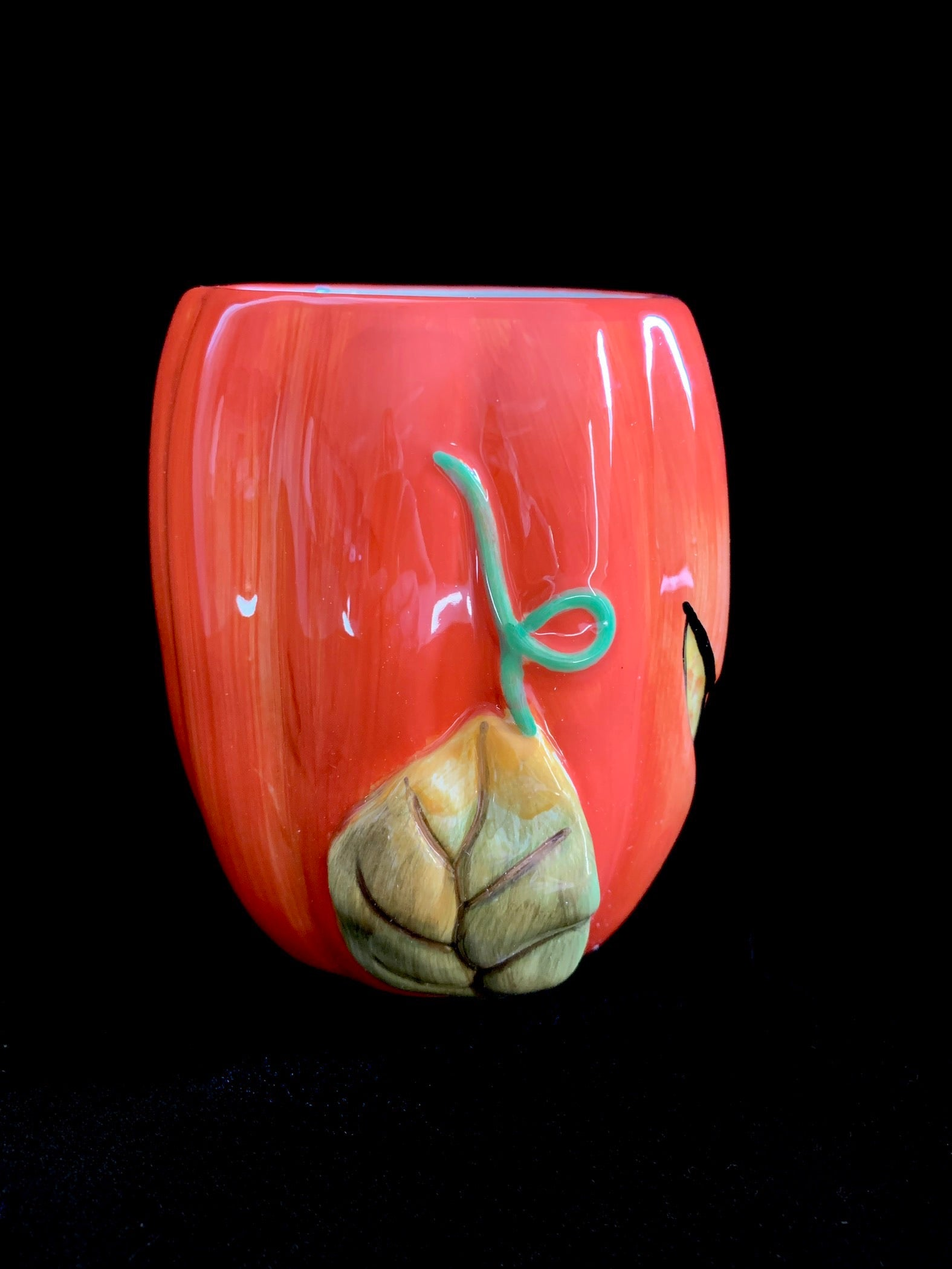 Ceramic Pumpkin Mug