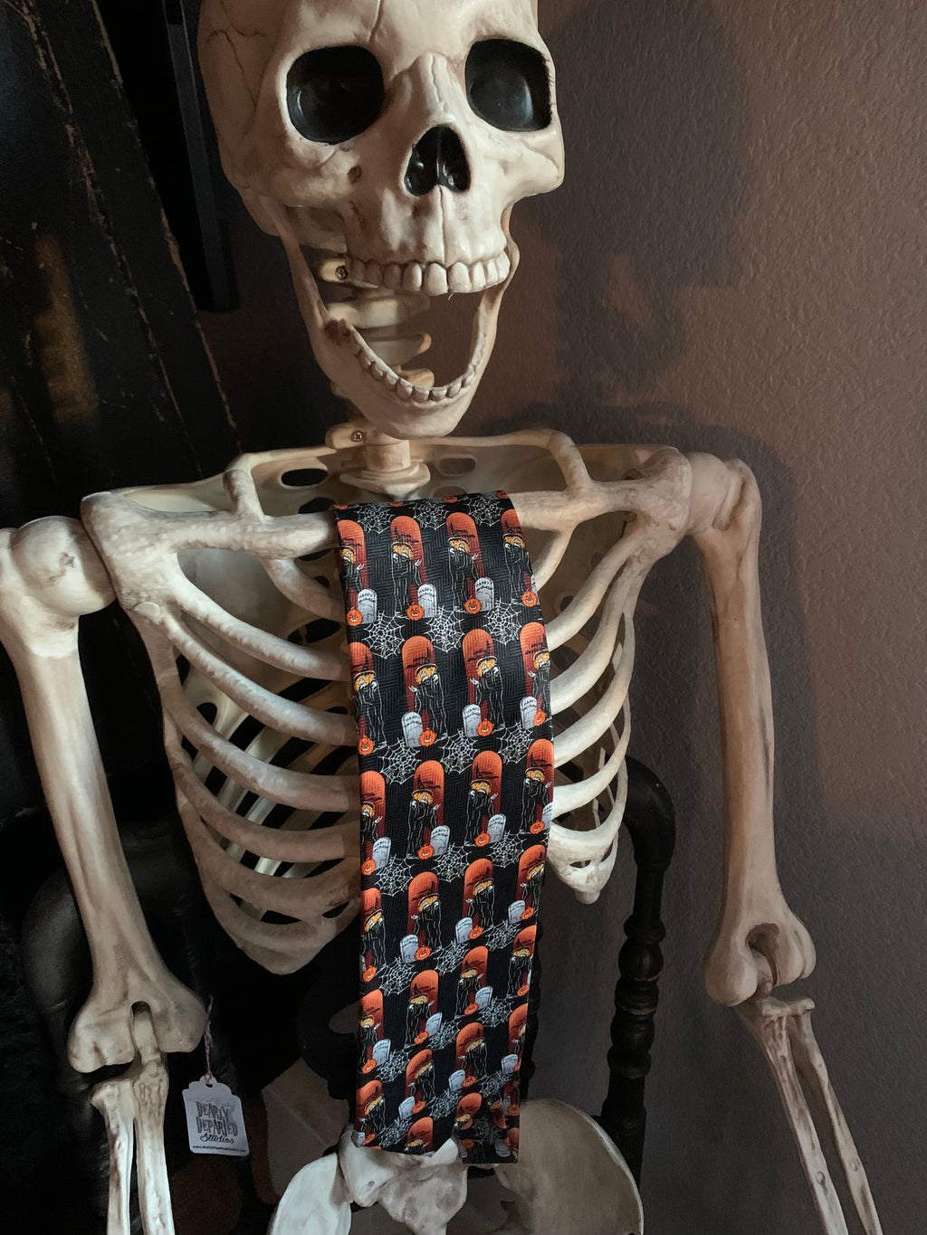 Halloween Neck Tie - Witches