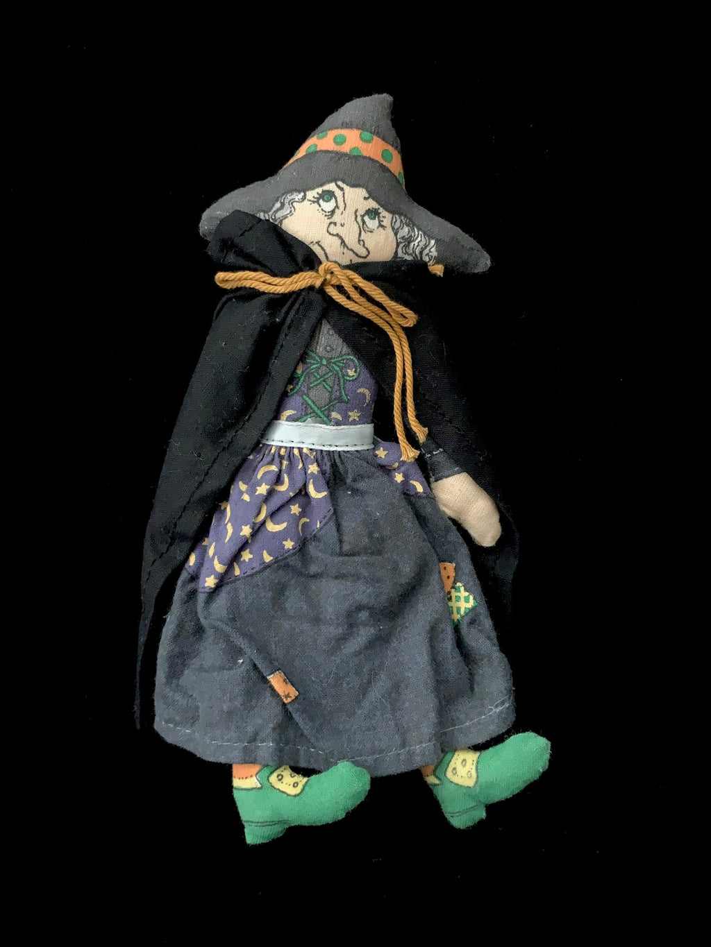 Winifred Hallmark Witch - doll toy retired