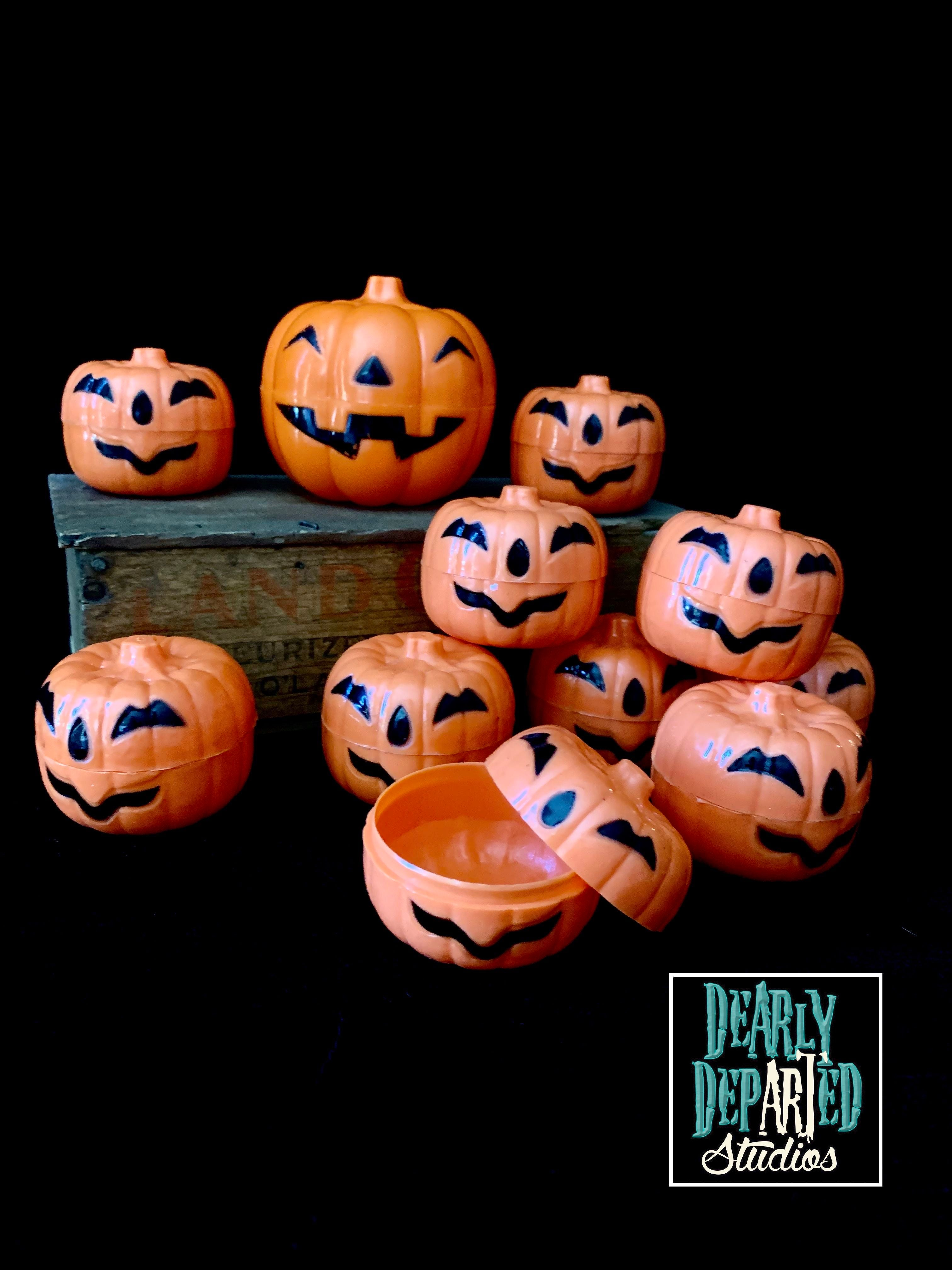 Vintage 1995 Jack O'Lantern Candy Containers
