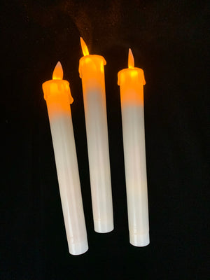 Gothic Halloween Candlestick with Candles
