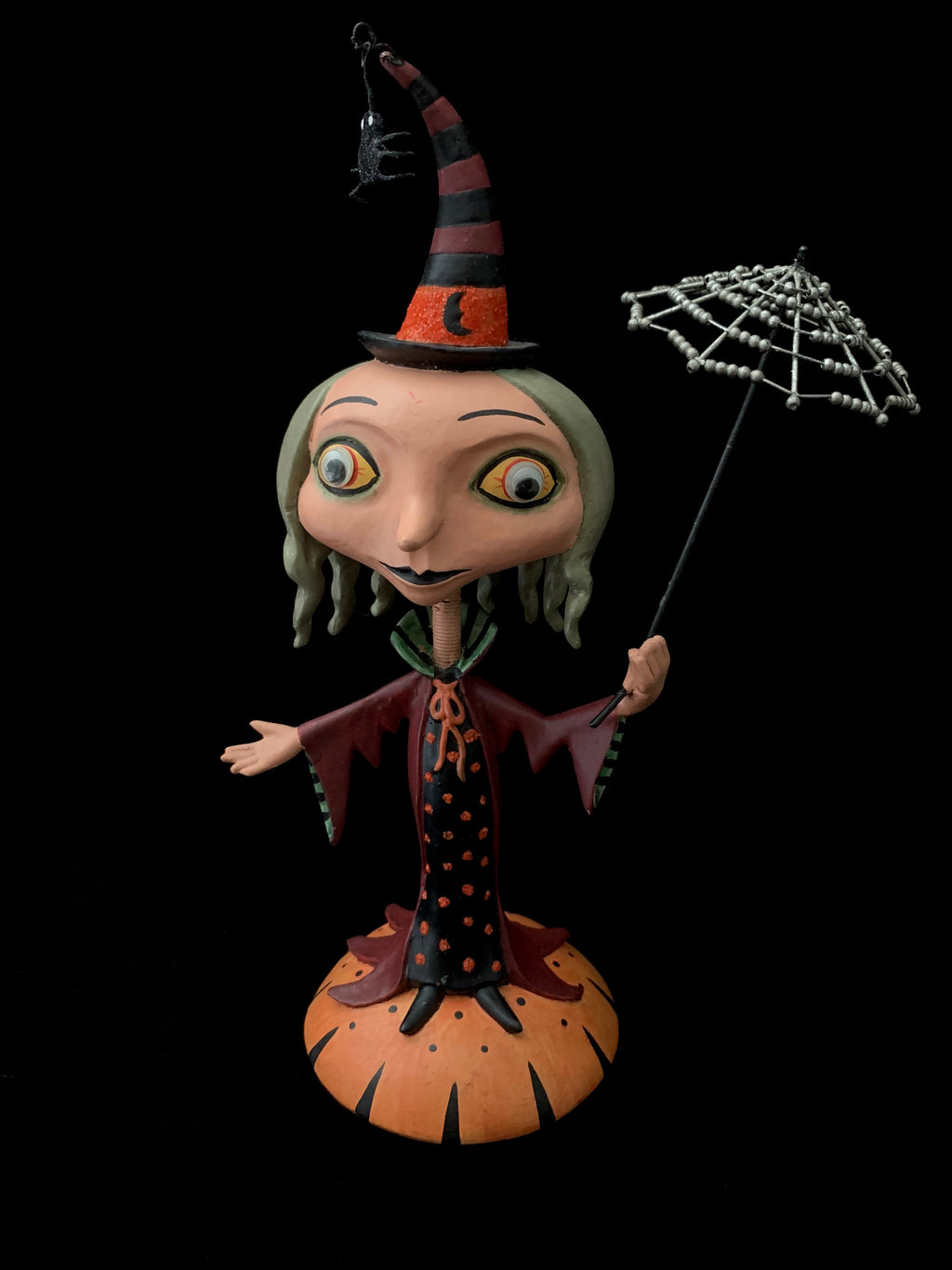 Department 56 Witch Bobble Head