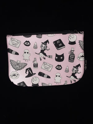 Ipsy Halloween Zippered Makeup Bag