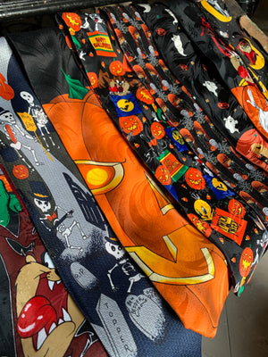 Vintage Looney Tunes Halloween Neck Tie - JOL and Tas