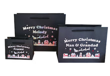 Load image into Gallery viewer, Personalised Merry Christmas Gift Wrap Bags