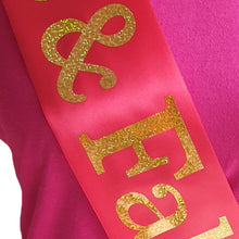 Load image into Gallery viewer, 70 and Fabulous Holographic Birthday Sash