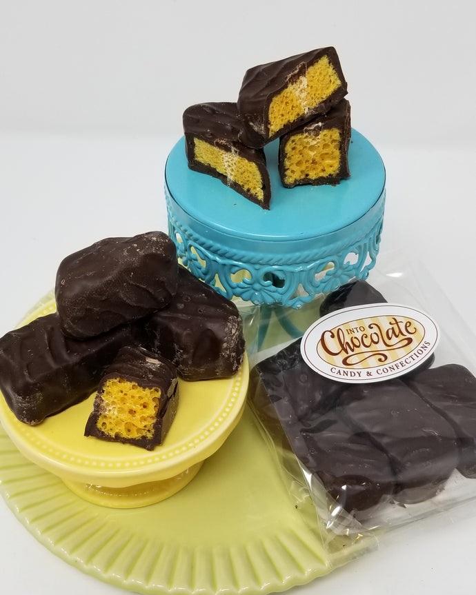 Dark Chocolate Sponge Toffee 120g