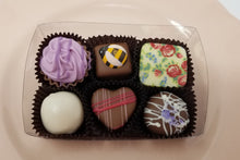 Load image into Gallery viewer, Collection of 6 Belgian Chocolates