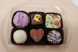 Collection of 6 Belgian Chocolates