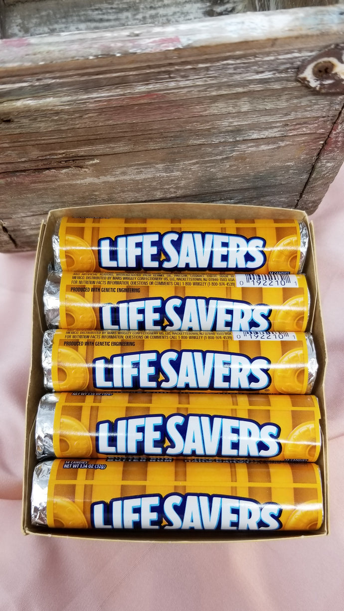 Butter Rum Lifesaver Rolls (32g) - Box of 10
