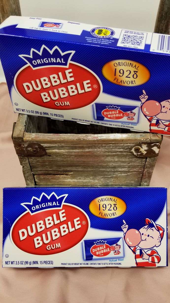 Dubble Bubble Nostalgic Theatre Box 99g