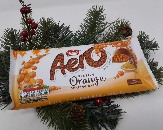 Nestle Aero Festive Orange Sharing  Bar 90g