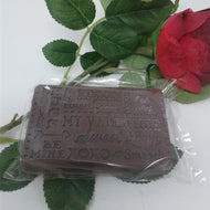 Valentine Sayings Chocolate Bar