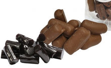 Load image into Gallery viewer, Chocolate Covered Black Licorice 114g
