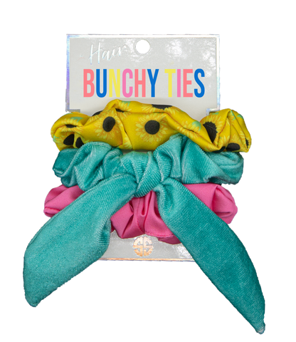 Bunchy Hair Ties Sunflower