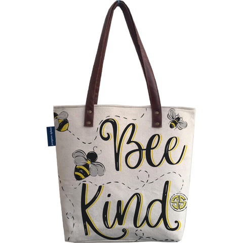 Bee Canvas Bag