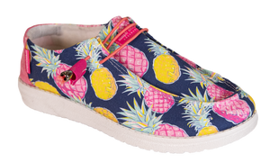 Pineapple Slip On Shoes