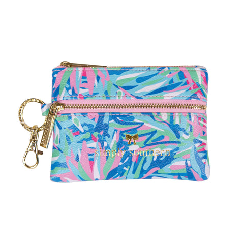 Mini Zip Wallet (Multiple Colors)