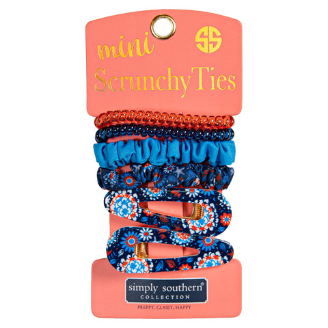Mini Scrunchy Ties (Multiple Colors)