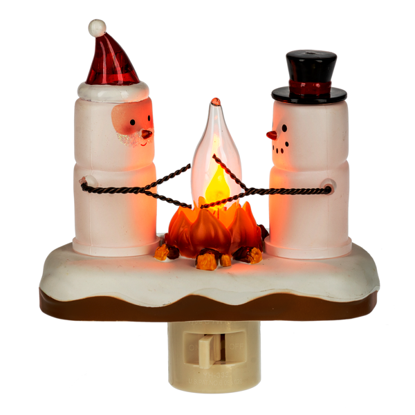 Smores Flicker Night Light