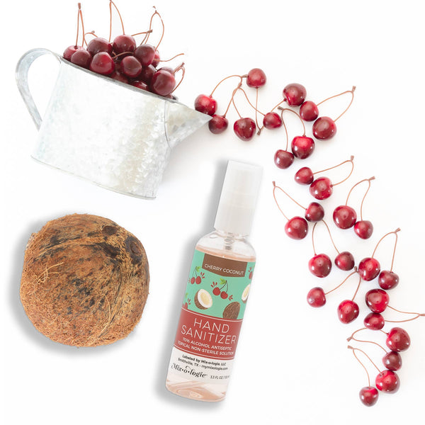 Cherry Coconut Hand Sanitizer Spray