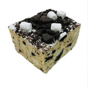 Cookies and Cream Jumbo Rice Krispie Treat