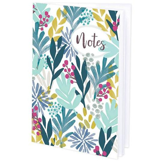 Tropical Leaves Mini Journal