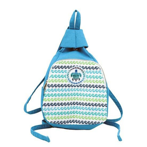 Canvas Sea Turtle Backpack