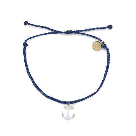 Anchors Away Gold Bracelet