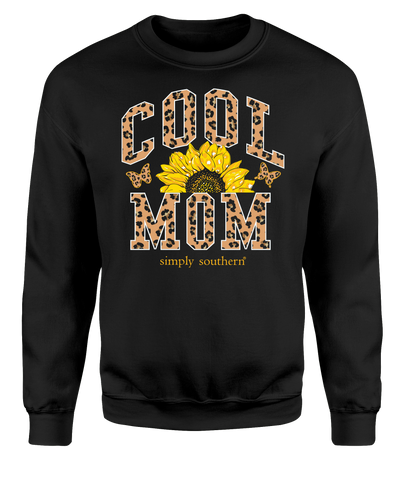 """Cool Mom"" Crew Sweatshirt"