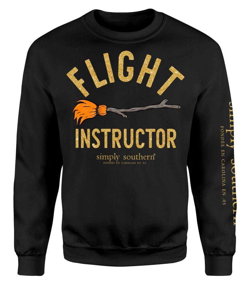 """Flight Instructor"" Crew Sweatshirt"