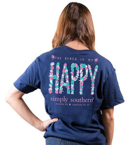 """The Beach Is My Happy"" Shirt"