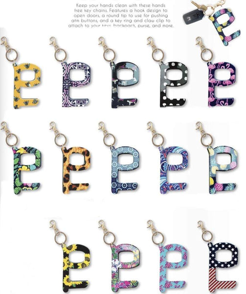 Hands Free Keychain (Multiple Patterns)