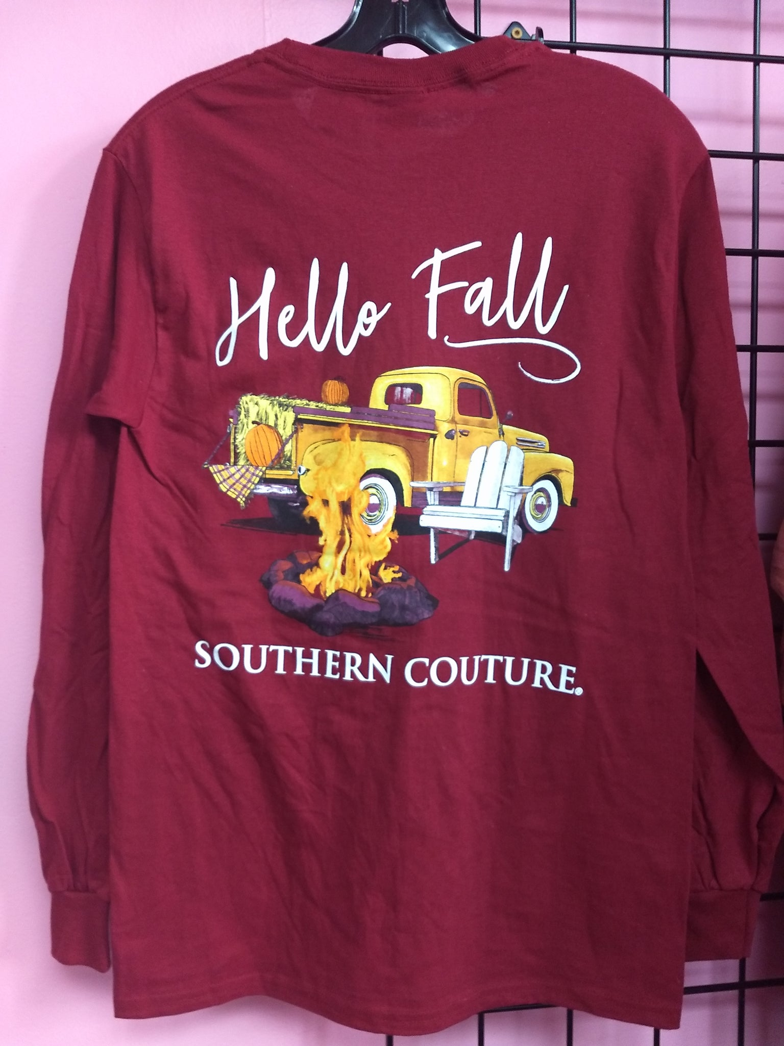 Hello Fall Long Sleeve Shirt