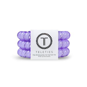 Large Lilac Hair Ties