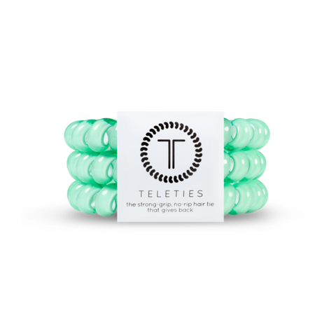 Large Mint Hair Ties