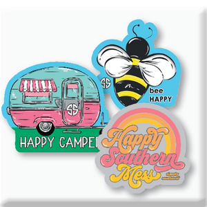 Camper Sticker Set