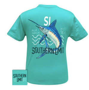 Southern Limit Blue Marlin tee shirt