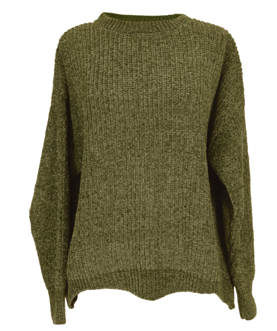 Green Wave Sweater