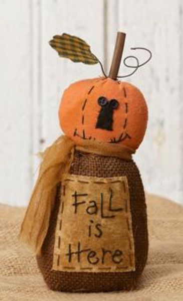 Fall Friends - Pumpkin or Scarecrow