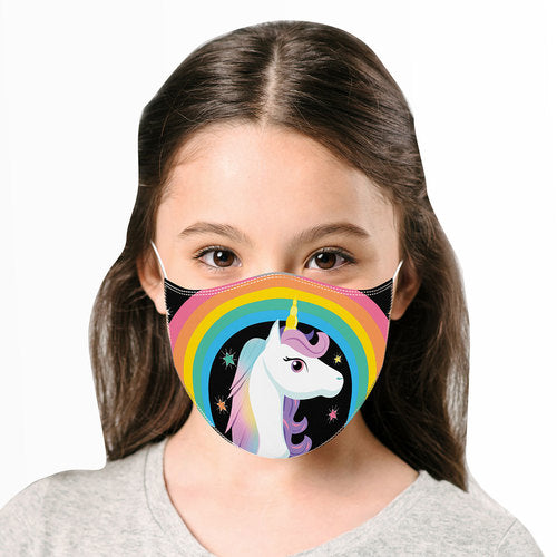 Unicorn Reusable Kids Face Mask
